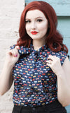 Retrolicious Bow Top in Bows