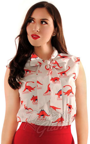Retrolicious Dino-Mite Bow Top