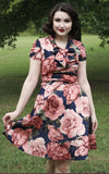 Retrolicious Floral Swing Dress