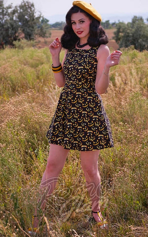 Retrolicious Glow Jacks Skater Dress