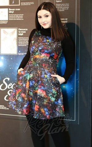 Retrolicious Interstellar Skater Dress