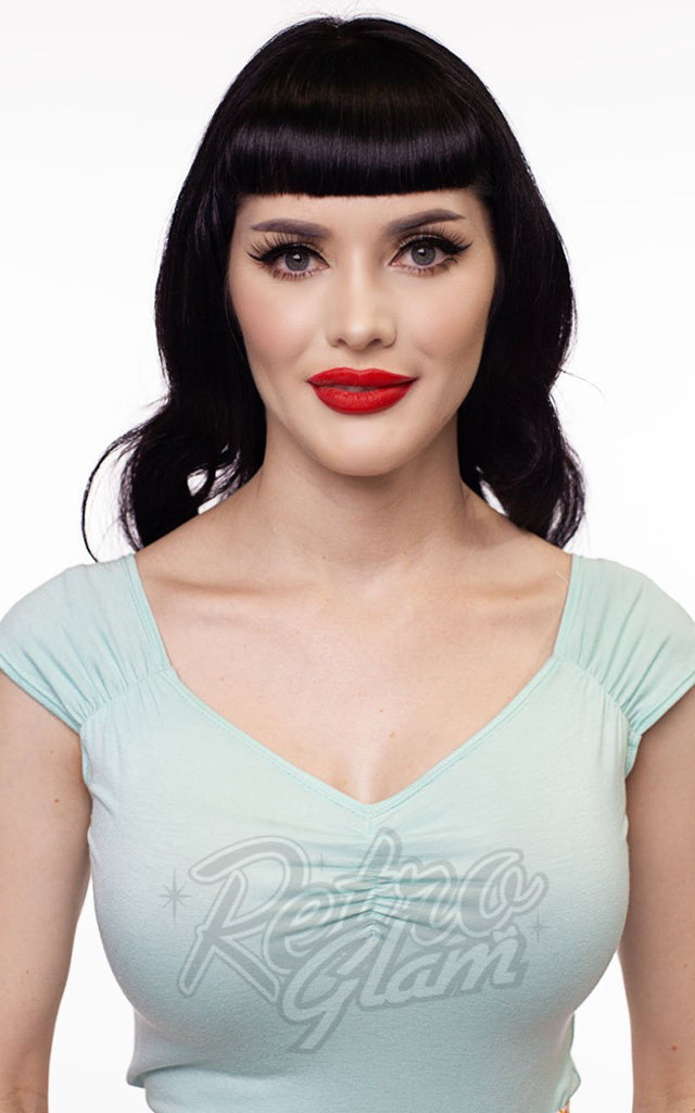 Retrolicious Isabel Top in Mint
