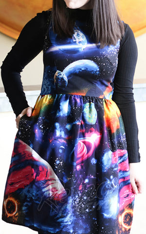 Retrolicious Galactic Dress detail
