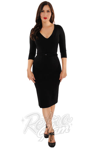Retrolicious Starlet Dress in Black