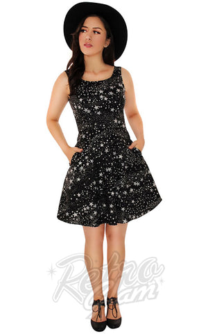 Retrolicious Stars Skater Dress