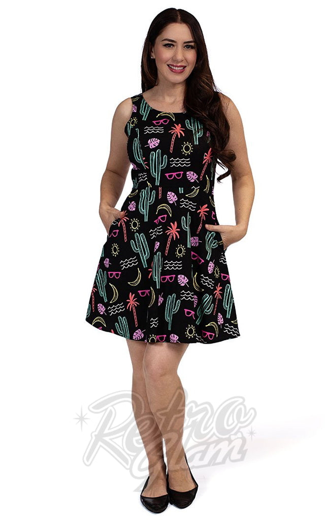 Retrolicious Summer Fun Skater Dress