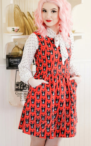 Retrolicious Woof Woof Dress