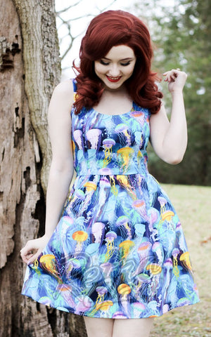 Retrolicious Jellyfish Dress