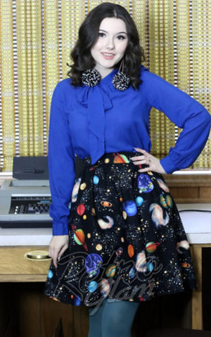 Retrolicious Out of this World A-Line Skirt
