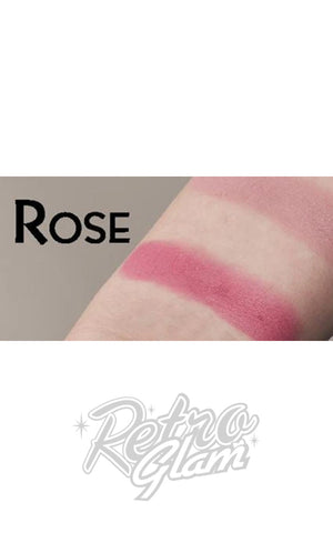 Besame Rose Delicate Powder Rouge swatch
