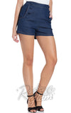 Voodoo Vixen May Denim Shorts