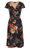 Voodoo Vixen Sophia Floral Wrap Dress