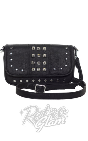 Sourpuss Aimee Clutch Purse in Black