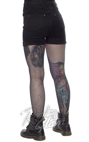 Sourpuss Essential Shorts in Black back