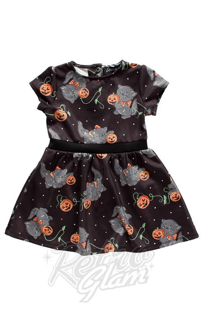 Sourpuss Feline Spooky Kids Dress