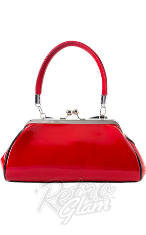 Sourpuss Jinx Floozy Purse in Red back