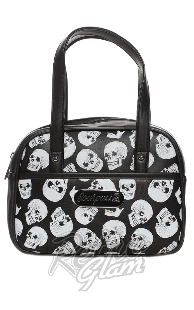 Sourpuss Skulls Mini Bowler Purse