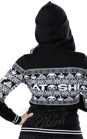 Sourpuss Eat Sh*t Knit Hoodie back
