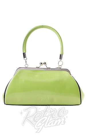 Sourpuss Jinx Floozy Purse in Green back