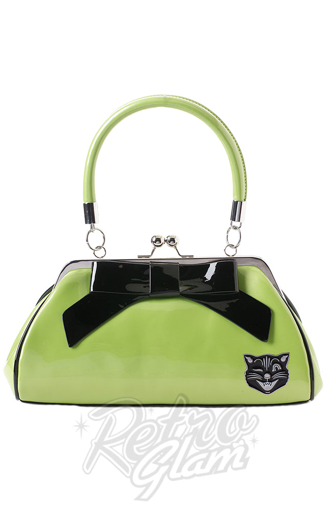 Sourpuss Jinx Floozy Purse in Green