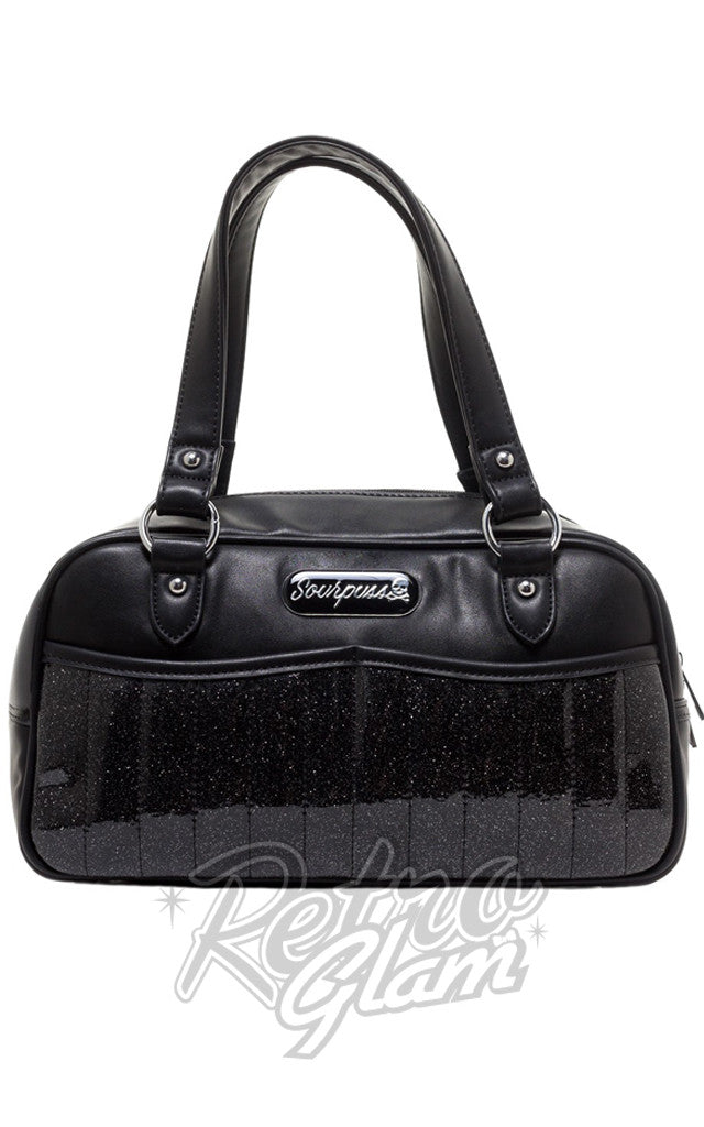 Sourpuss Sabrina Purse in Black