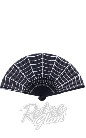 Sourpuss Fans in Spiderwebs