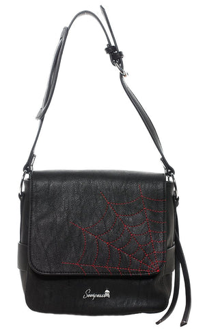 Sourpuss Spiderweb Triumph Purse