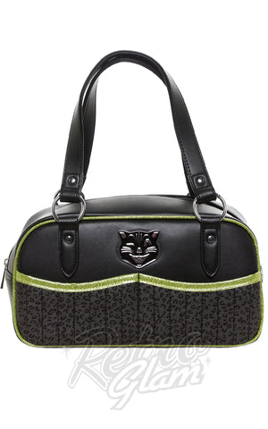Sourpuss Jinx Tessa Purse in Black & Green
