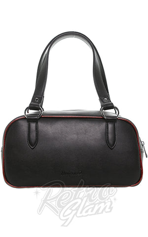 Sourpuss Jinx Tessa Purse in Black & Red back