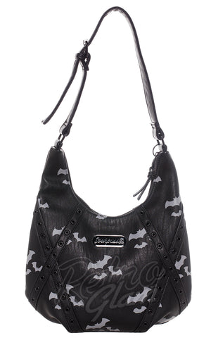 Sourpuss Triple Bats Hobo Purse