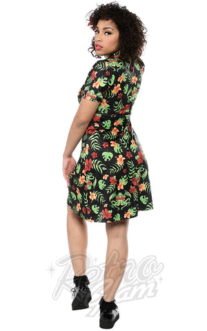 Sourpuss Tropicthulhu Rosie Dress back