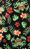 Sourpuss Tropicthulhu Rosie Dress fabric