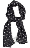 Sourpuss Bad Girl Scarf in Anchor Print