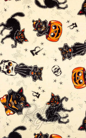 Sourpuss Black Cats Blanket