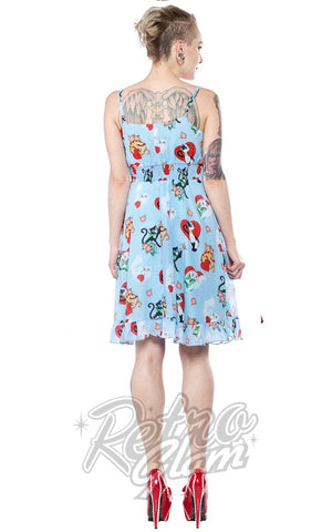 Sourpuss Doll Baby Cat Lady Dress Back