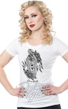Sourpuss Die in Grace Tee