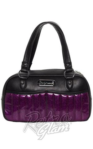 Sourpuss Sabrina Purse in Purple