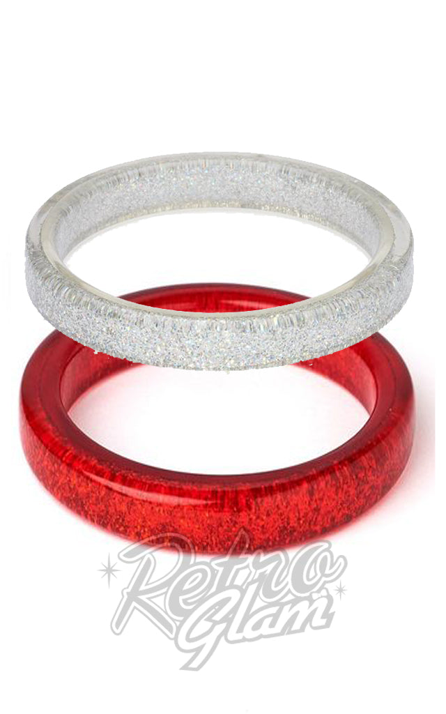 Splendette Glitter Bangles in Assorted Colours