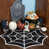 Sourpuss Spiderweb Rug gothic