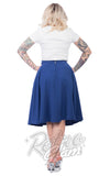 Steady Clothing Thrills Skirt in Royal Blue