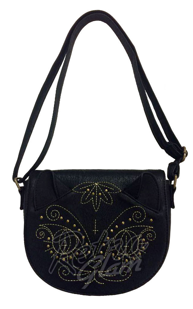 Loungefly Studded Cat with 3D Ears Crossbody