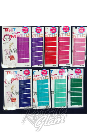 Tint-o-Matic Bobby Pins in Assorted Colors