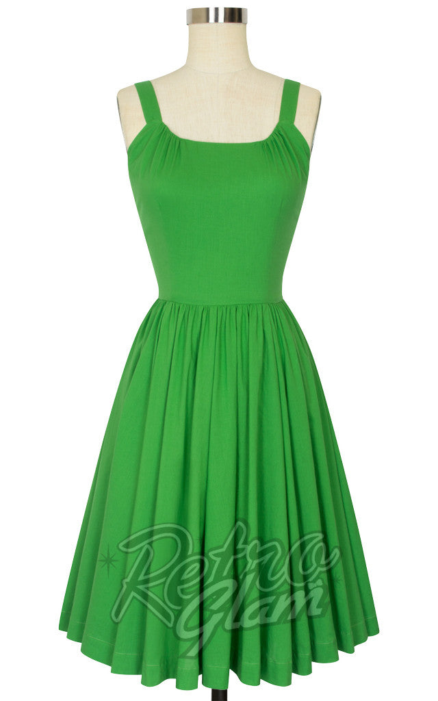 8c0fe50debe7 Trashy Diva Annette Dress in Green – Retro Glam