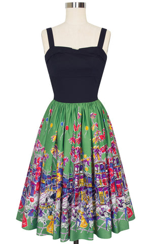 Trashy Diva Trixie Dress in Carnival Print