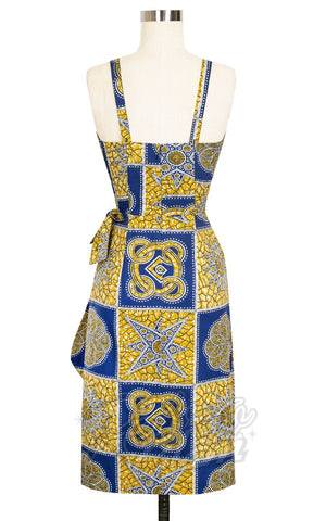 Trashy Diva Lena Sarong Dress in Tiki Batik back