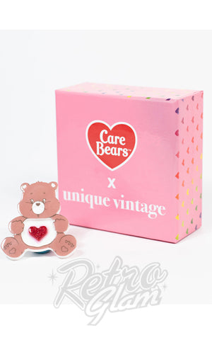 Unique Vintage X Care Bears Tenderheart Brooch box