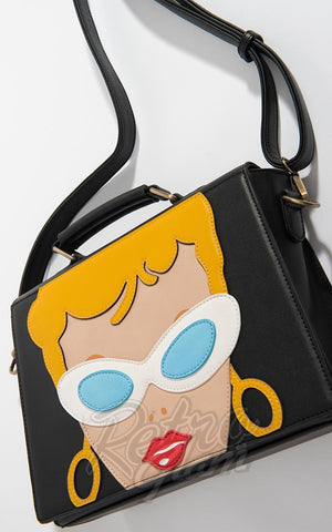 Barbie X Unique Vintage Barbie Doll Face Handbag