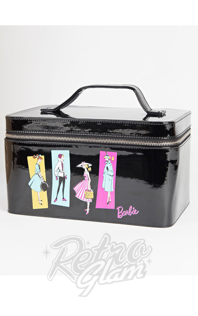 Unique Vintage Barbie Illustration Train Case