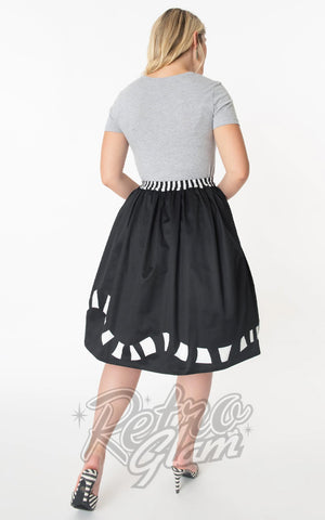 Unique Vintage X Beetlejuice Sandworm Jayne Skirt back