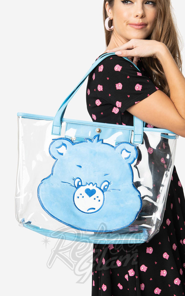 Unique Vintage X Care Bears Grumpy Bear Tote Bag